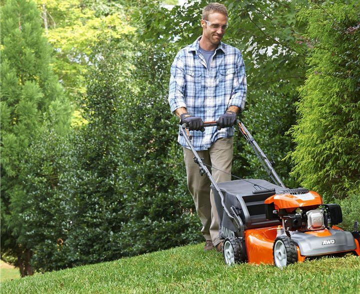 Can a self-propelled lawnmower go backward? 2