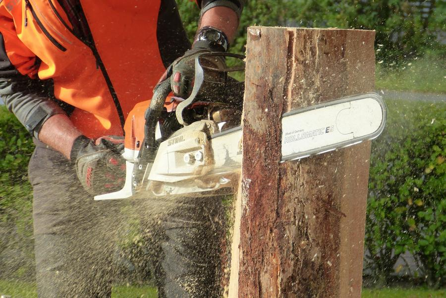 Can a chainsaw cut through nails? 1