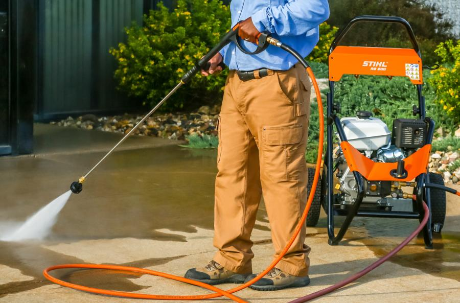 Can't remove the hose from pressure washer? Try this! 2
