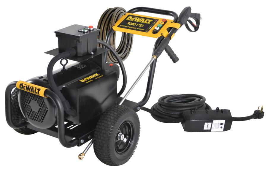 How to fix an electric pressure washer from repeatedly turning on and off? 1
