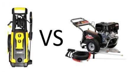 Electric Pressure Washer Vs. Gas: Which Is Better?