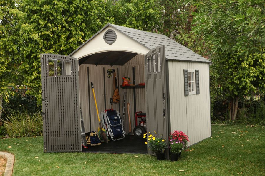 A Lawn Mower Shed: These Are Your Options 1