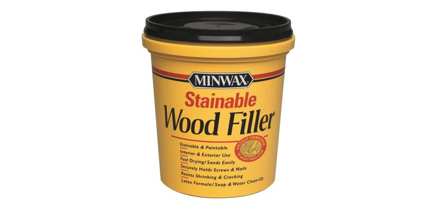 Fast-drying wood filler: indoor and outdoor 4