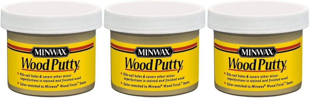 Fast-drying wood filler: indoor and outdoor 5