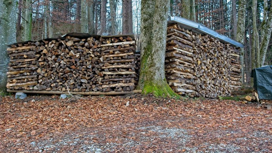 How to Dry Wood for A Fire Place 1