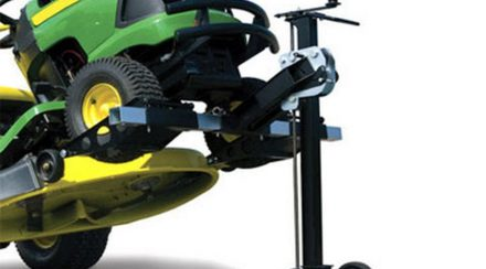 Lawnmower lift, are there cheaper alternatives, and what do they cost?