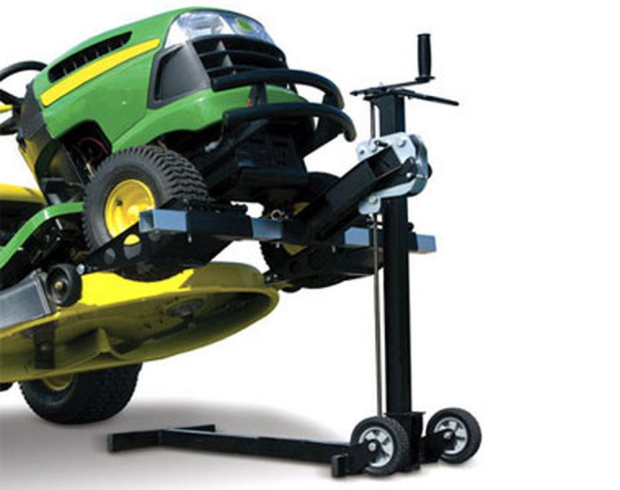 Lawnmower lift, are there cheaper alternatives, and what do they cost? 1