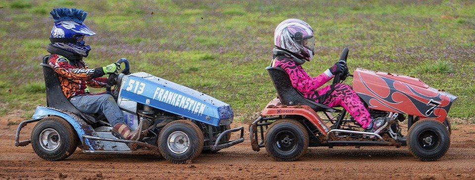 Lawnmower racing, this is what you need to know 2