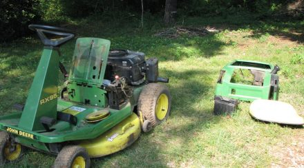 What to do with an Old Lawnmower