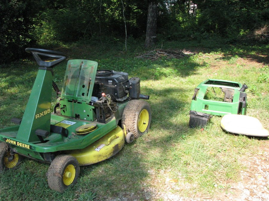 What to do with an Old Lawnmower 1