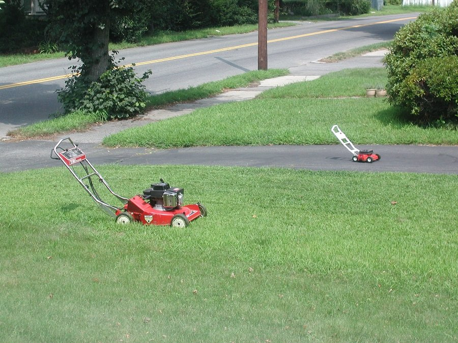 How to change a lawn mower carburetor? 2