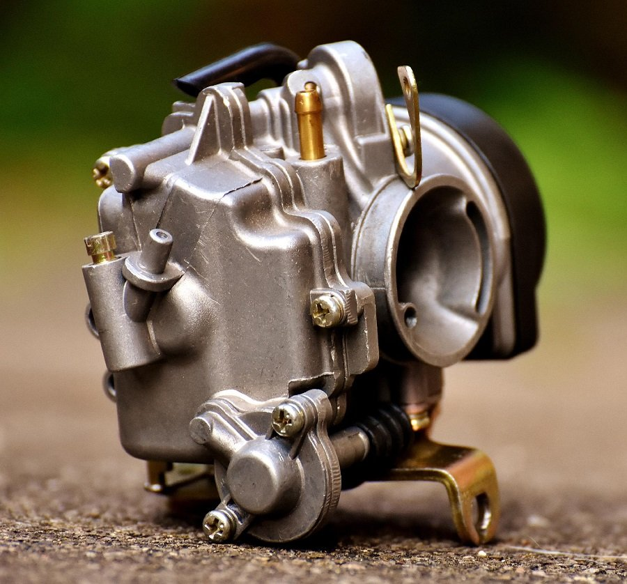 How to Clean a Carburetor on a Husqvarna Lawnmower, step by step 1