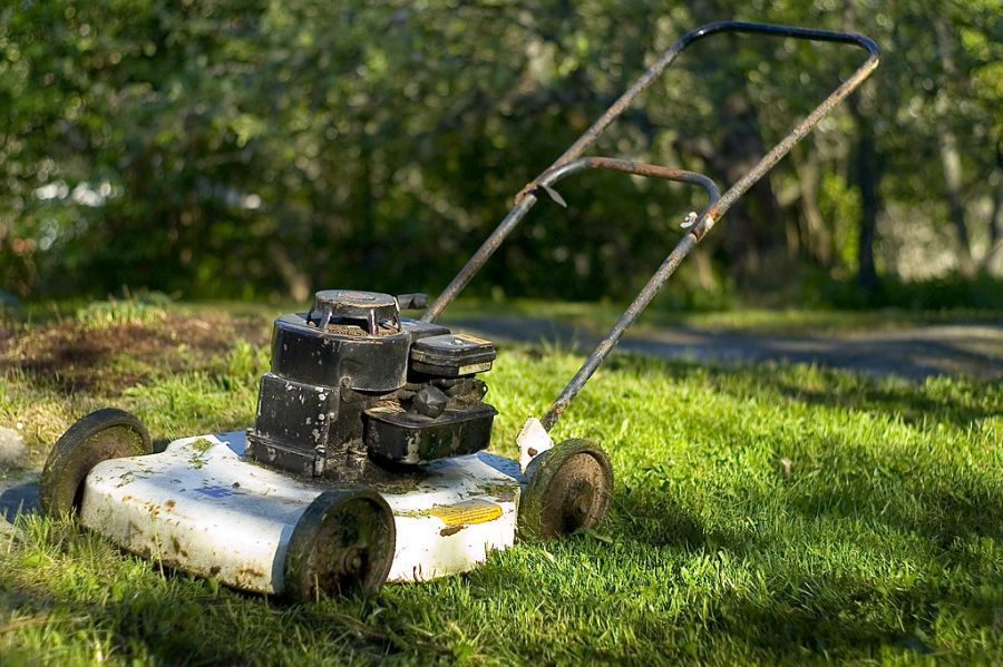 Mowing Deck repair and maintenance 1