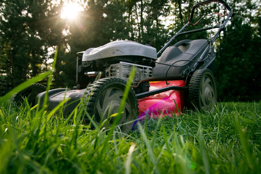 How to Adjust a Self-Propelled Honda Lawnmower, step by step 2