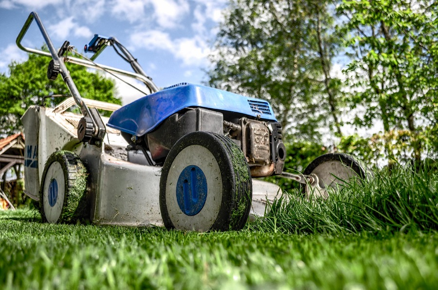 How to adjust the lawnmower height 1