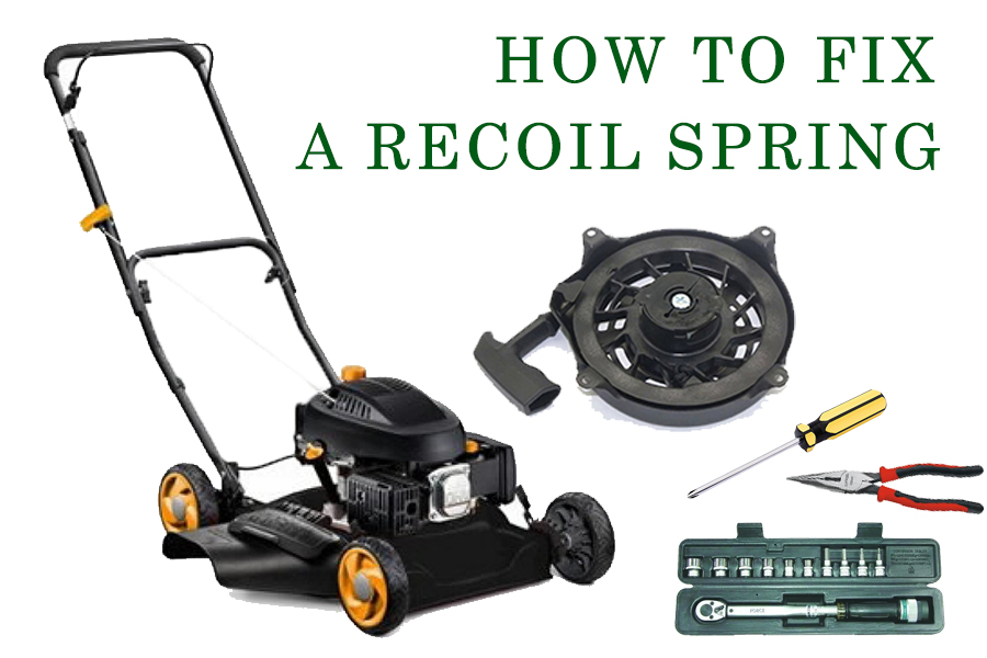 How to Fix a Recoil Spring on a Lawnmower: Step by Step 1