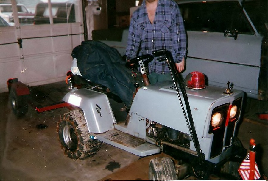 How to put a belt on a craftsman riding lawnmower, step by step 1