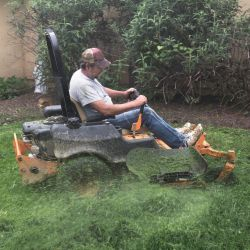 Lawnmower Problem Solver 14