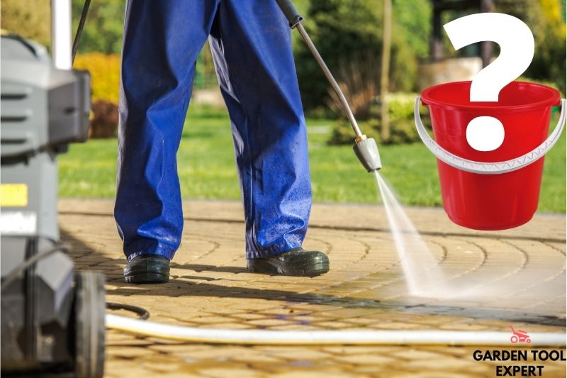 Can you run a pressure washer from a bucket? Helpful tips 1